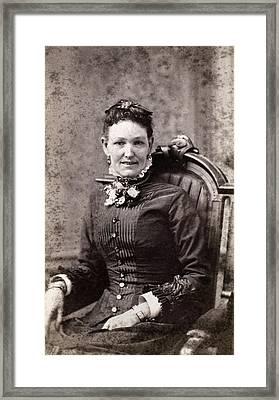 Women's Fashion, 1880s Framed Print by Granger