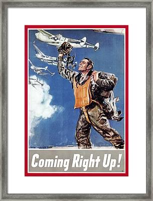 World War II: U.s. Poster Framed Print by Granger