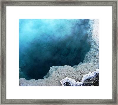 Yellowstone Blue Framed Print by Patricia Januszkiewicz