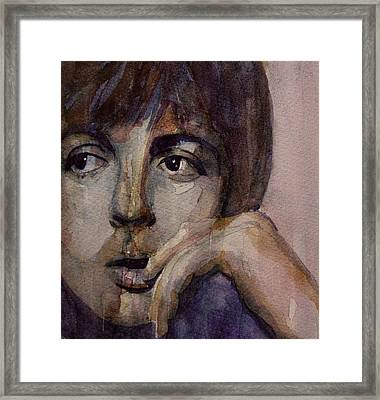 Yesterday Framed Print by Paul Lovering