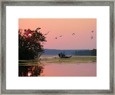 Zoom Framed Print by JC Findley
