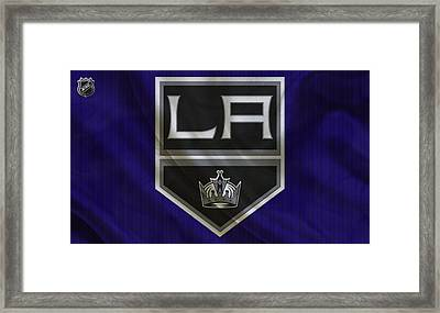 Los Angeles Kings Framed Print by Joe Hamilton