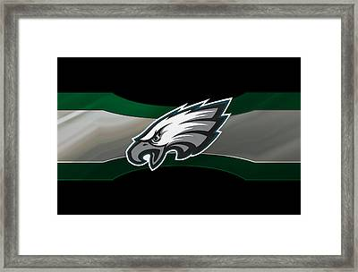 Philadelphia Eagles Framed Print by Joe Hamilton