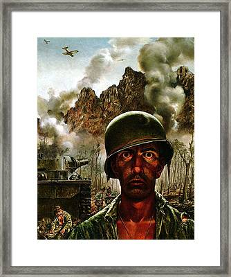 2000 Yard Stare Framed Print by Mountain Dreams