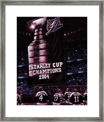 2004 Champs Framed Print by Marlon Huynh