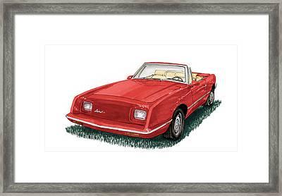 2006 Studebaker Avanti Framed Print by Jack Pumphrey