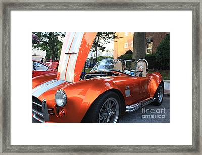 2009 Cobra Front And Side View Framed Print by John Telfer