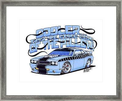 2010 Dodge Challenger Framed Print by Jon Richards
