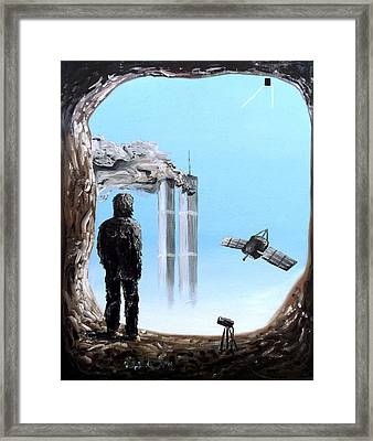 2012-confronting Inevitability Framed Print by Ryan Demaree