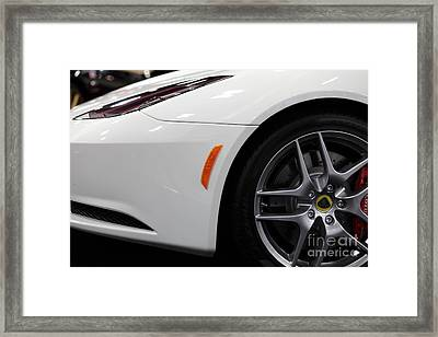 2012 Lotus Evora - 5d20206 Framed Print by Wingsdomain Art and Photography