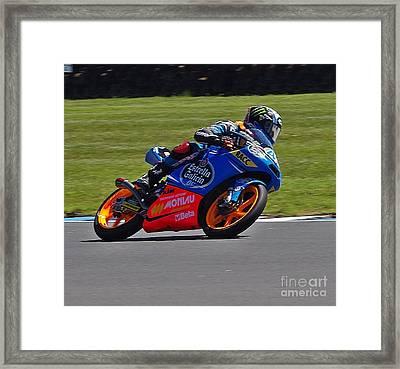 2013 Australian Moto Grand Prix Framed Print by Blair Stuart