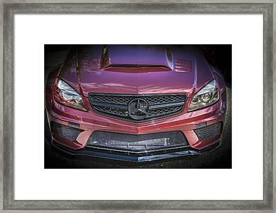 2013 Mercedes Sl Amg Framed Print by Rich Franco