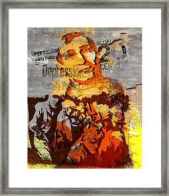 20th Century Depression Framed Print by Jeff Burgess