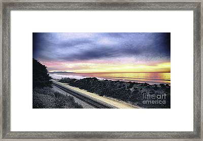 21-365 Sunset Framed Print by Susie Talman