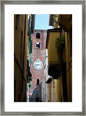 Europe, Italy, Lucca Framed Print by Terry Eggers
