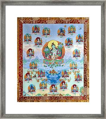 21 Taras Framed Print by Ies Walker