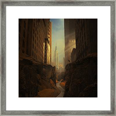2146 Framed Print by Michal Karcz