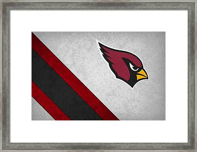 Arizona Cardinals Framed Print by Joe Hamilton