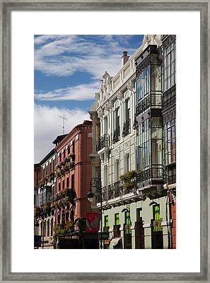 Spain, Castilla Y Leon Region, Leon Framed Print by Walter Bibikow