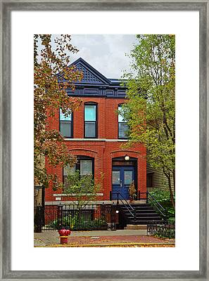 22 W Eugenie St Old Town Chicago Framed Print by Christine Till