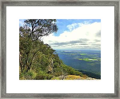 Landscape Framed Print by Girish J