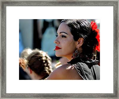 Olala Framed Print by Marit Runyon