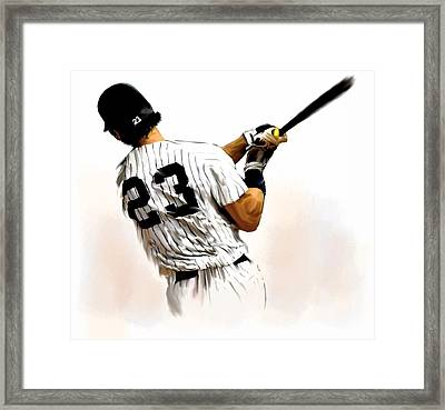 23   Don Mattingly  Framed Print by Iconic Images Art Gallery David Pucciarelli