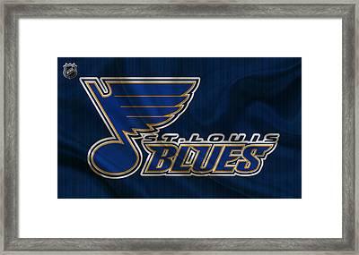 St Louis Blues Framed Print by Joe Hamilton