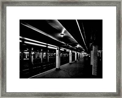 23rd Street Station Framed Print by Benjamin Yeager
