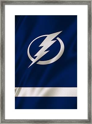 Tampa Bay Lightning Framed Print by Joe Hamilton