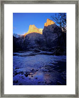 Zion National Park, Utah Framed Print by Scott T. Smith
