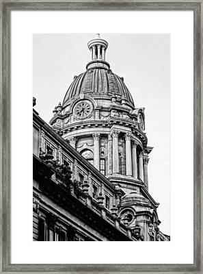 240 Centre Street Framed Print by JC Findley