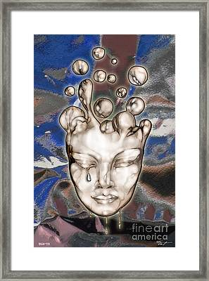 24x36 Misery 220 Framed Print by Dia T