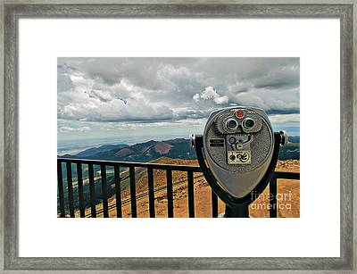 25 Cent Views Framed Print by Charles Dobbs