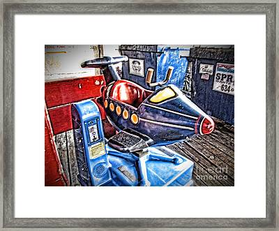 25 Cents Framed Print by Christina Perry