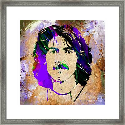 George Harrison Collection Framed Print by Marvin Blaine