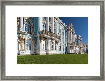 Russia, Saint Petersburg Framed Print by Walter Bibikow