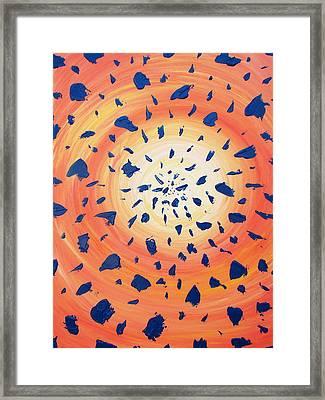 26-06-2012 Framed Print by Annette Egan
