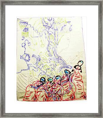Wise Virgins Framed Print by Gloria Ssali