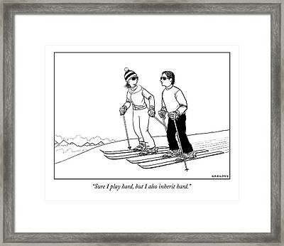 Untitled Framed Print by Alex Gregory
