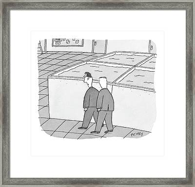 Untitled Framed Print by Peter C. Vey