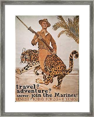 World War I U Framed Print by Granger