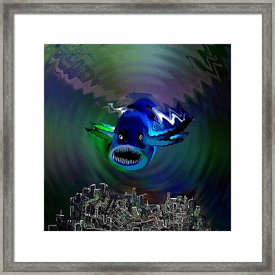 278 -   The Custodian Of Atlantis Framed Print by Irmgard Schoendorf Welch