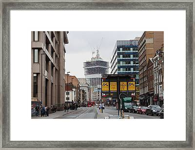20 Fenchurch Street Framed Print by Ash Sharesomephotos