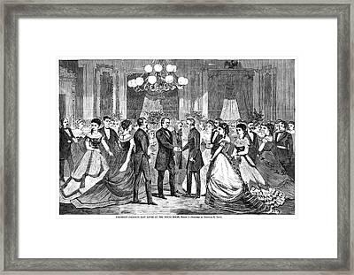 Andrew Johnson (1808-1875) Framed Print by Granger