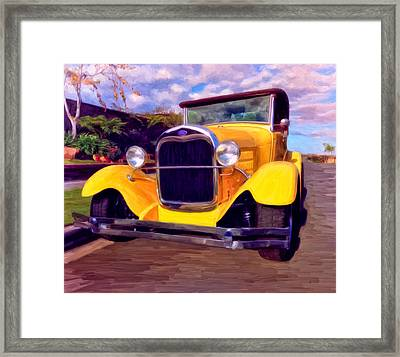 '28 Ford Pick Up Framed Print by Michael Pickett