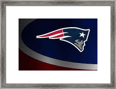 New England Patriots Framed Print by Joe Hamilton