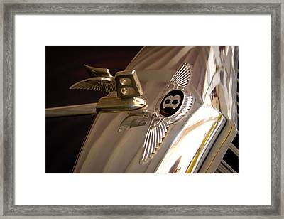 1956 Bentley S1 Framed Print by David Patterson