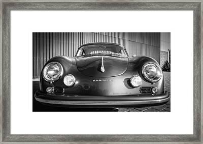 1957 Porsche 1600 Super Framed Print by Jill Reger