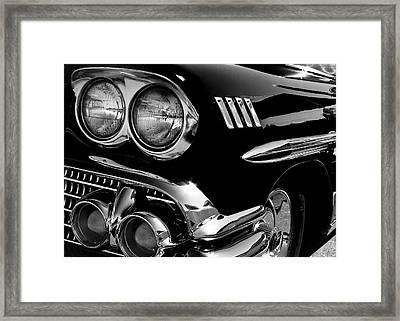 1958 Chevy Impala Framed Print by David Patterson